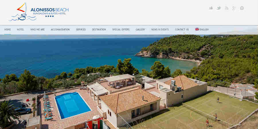 Alonissos Beach Hotel - Milia
