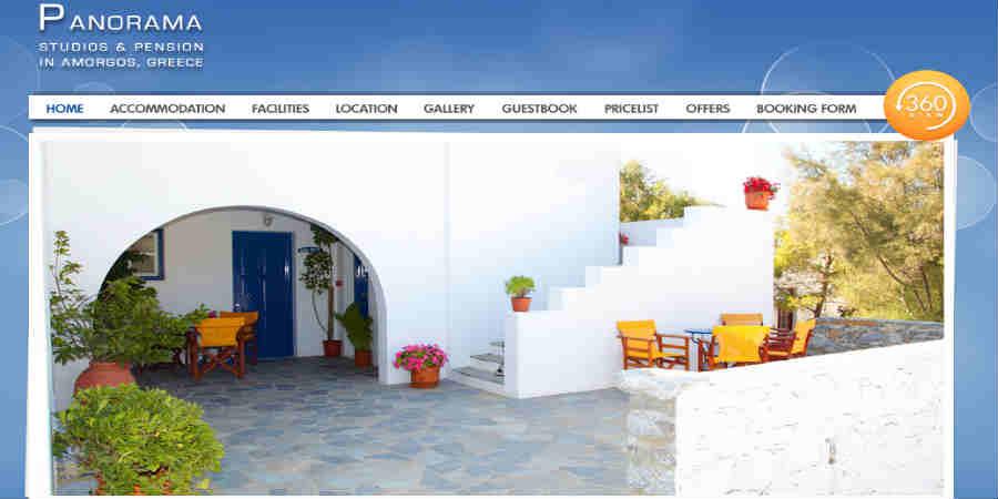 Panorama Studios - Chora Amorgos
