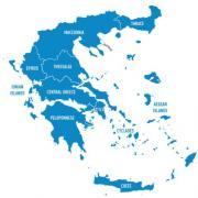 Carte grece 500x500