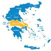 Carte grece centrale 500x500