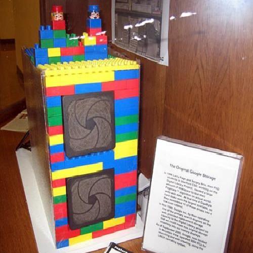 le Premier serveur Google sur base Lego