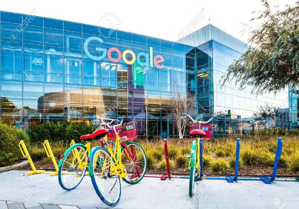 Google bikes googleplex