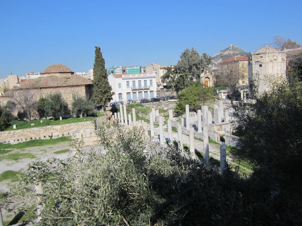 Site archéologique de l'Agora Romaine - Athènes