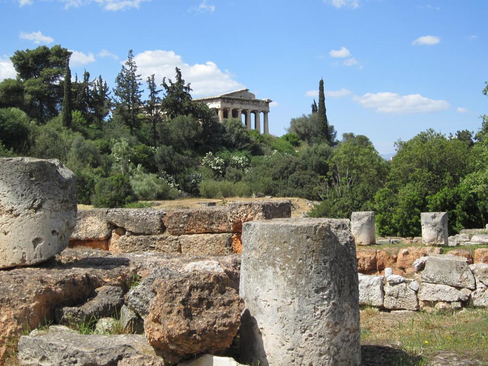 Site archéologique de l'Agora Antique - Athènes