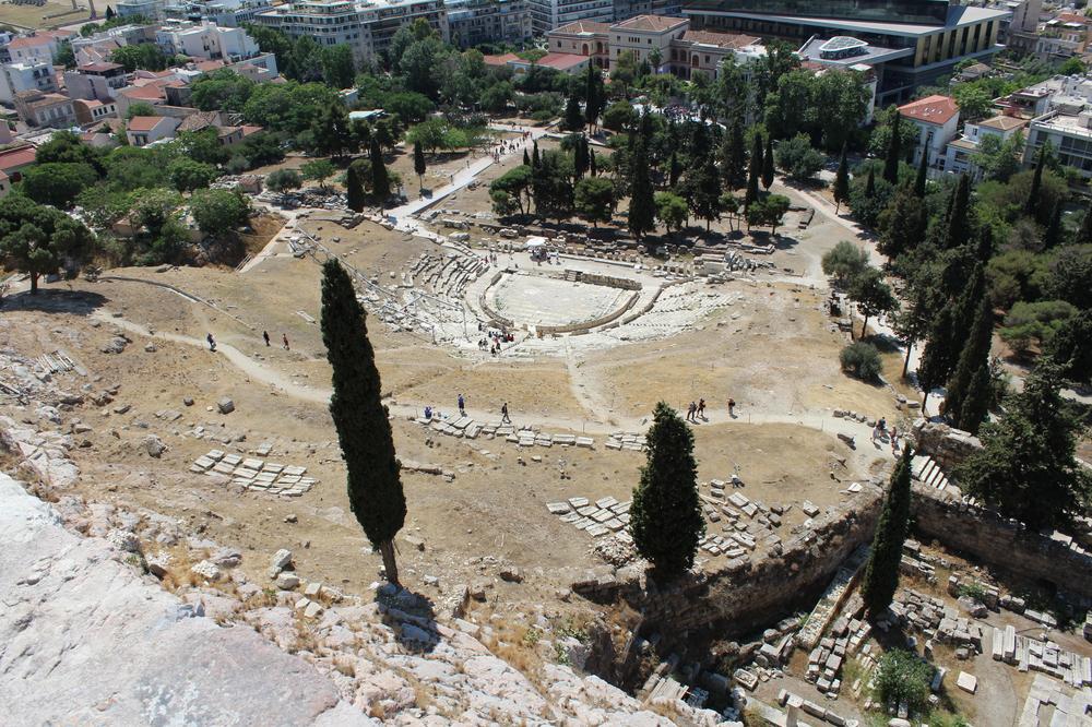 Site archéologique de Dionysos - Athènes